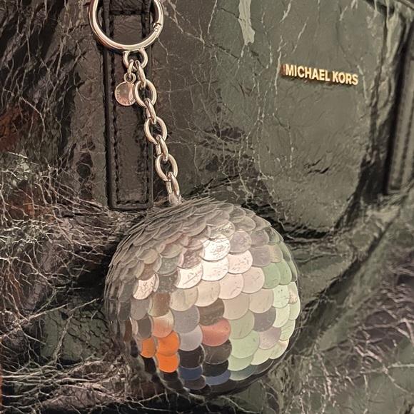 ❤️HOST PICK❤️Michael Kors disco ball key chain